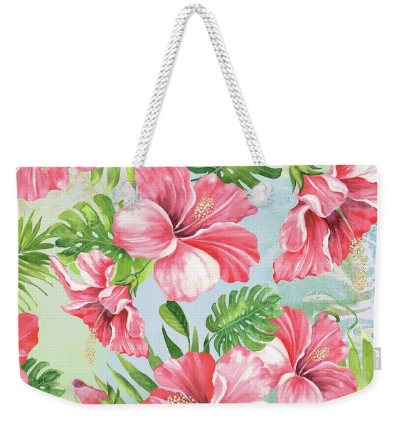 Hibiscus Paradise-jp3966 Weekender Tote Bag