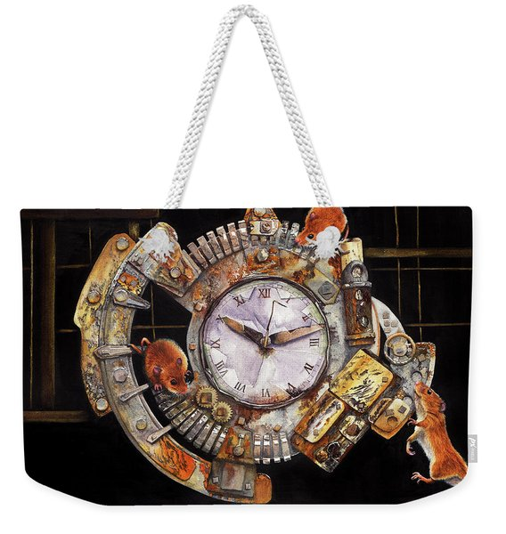 Hickory Dickory Dock Weekender Tote Bag