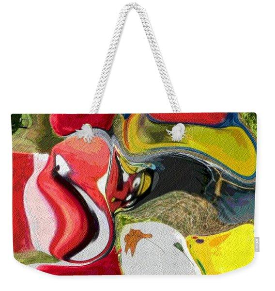 Odd Couplings Weekender Tote Bag