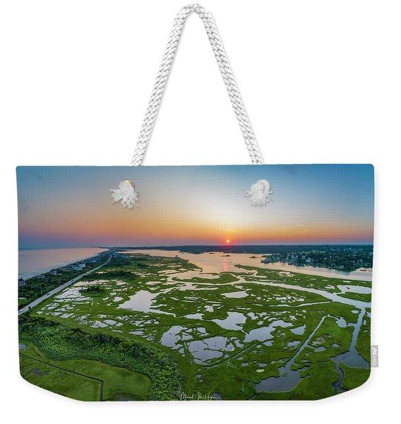 Hidden Beauty Pano Weekender Tote Bag