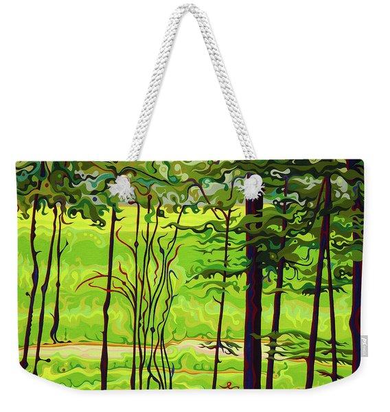 Hidden Beyond The Green Weekender Tote Bag