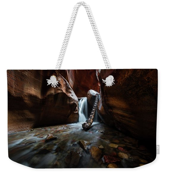 Hidden Canyon Weekender Tote Bag