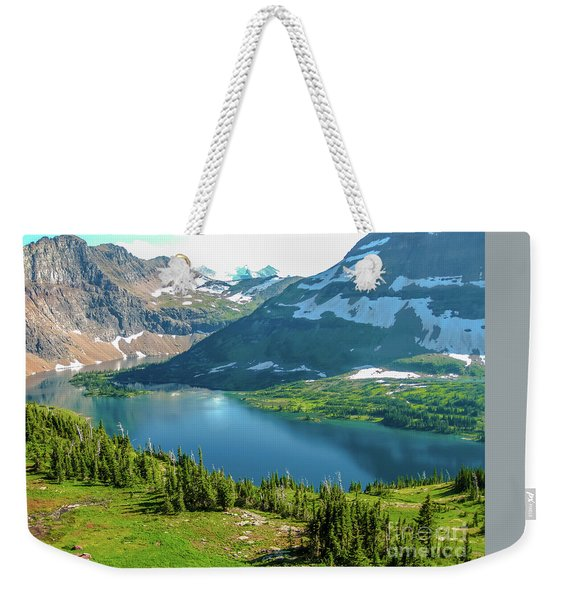 Weekender Tote Bag featuring the photograph Hidden Lake Glacier National Park by Benny Marty