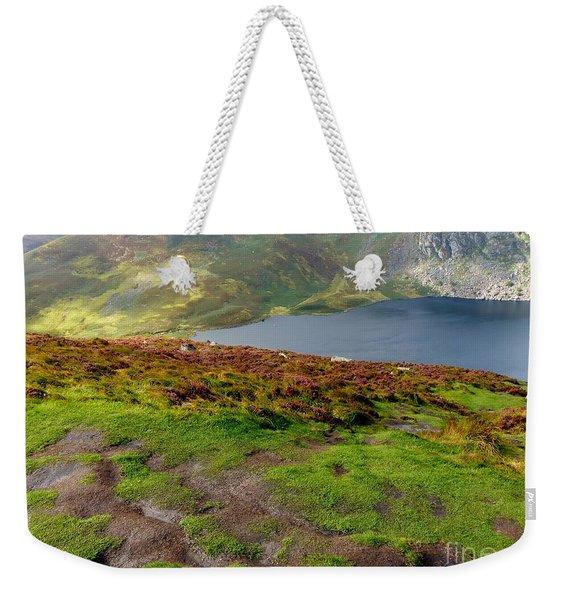 Hidden Lake Weekender Tote Bag