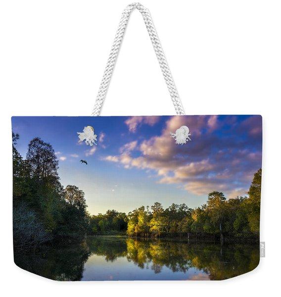 Hidden Light Weekender Tote Bag