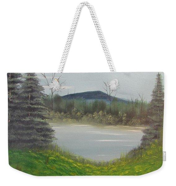 Hidden Pond  Weekender Tote Bag