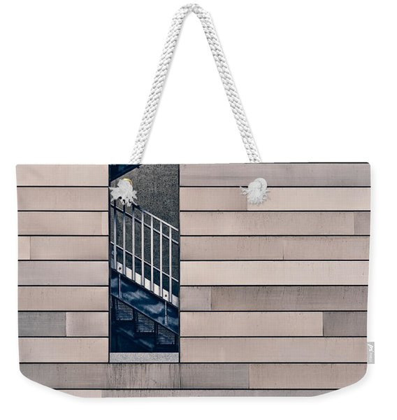 Hidden Stairway Weekender Tote Bag