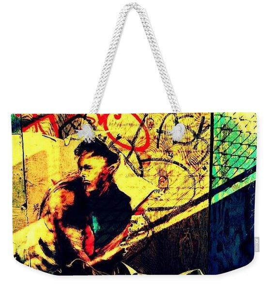 Hidden Stranger Weekender Tote Bag