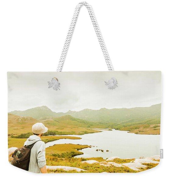 Hidden Tasmania Trails Weekender Tote Bag