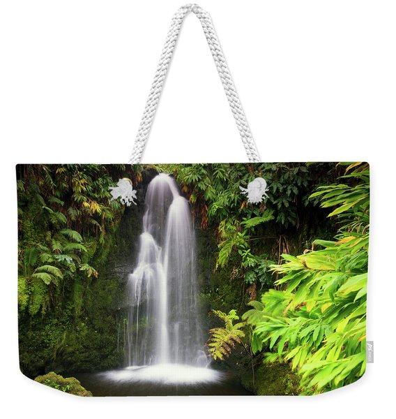 Hidden Waterfall Weekender Tote Bag