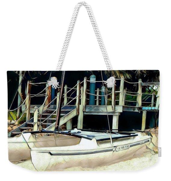 Hideaway Weekender Tote Bag