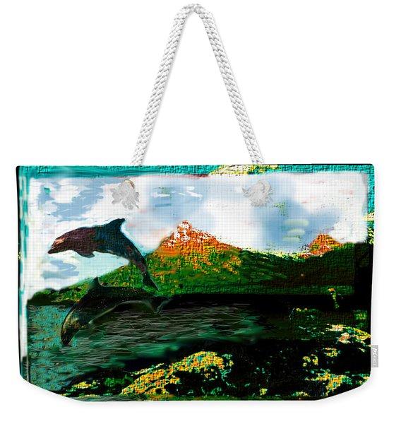 Hiding Your Love Weekender Tote Bag