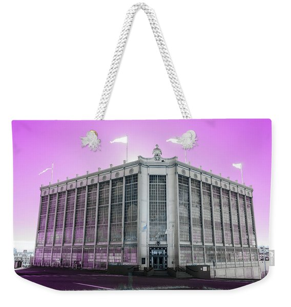 Higgins Armory In Infrared Weekender Tote Bag