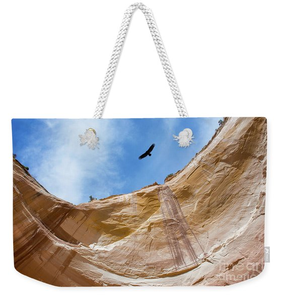 High Above Echo Amphitheater Weekender Tote Bag