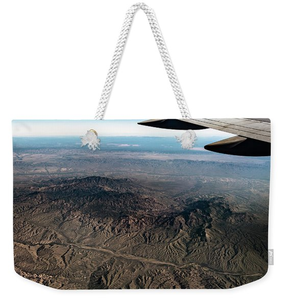 High Desert From High Above Weekender Tote Bag