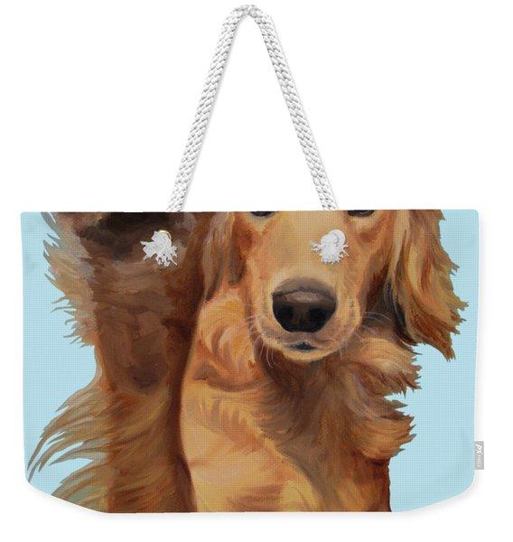 High Five Weekender Tote Bag