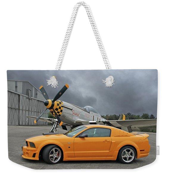 High Flyers - Mustang And P51 Weekender Tote Bag