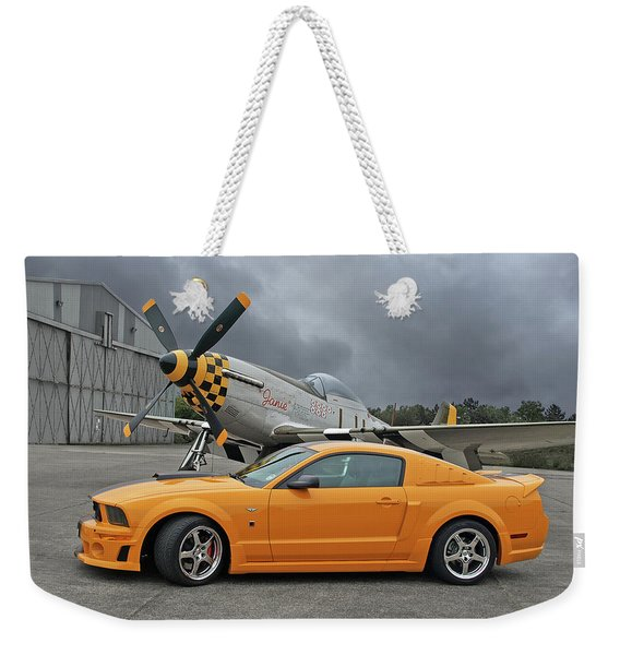High Flyers - Mustang And P51 Weekender Tote Bag
