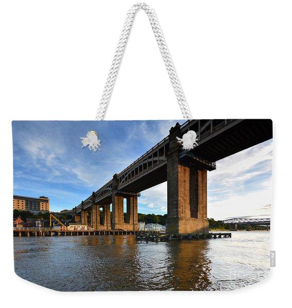 High Level Bridge Weekender Tote Bag