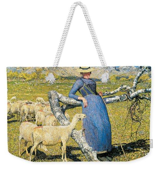 High Noon In The Alps Weekender Tote Bag