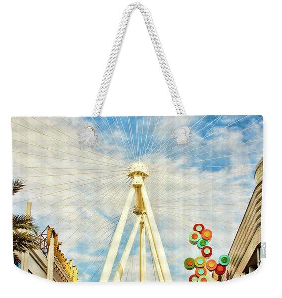 High Roller Wheel, Las Vegas Weekender Tote Bag