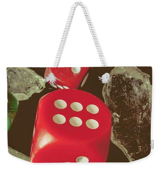 High Rollers Artwork Weekender Tote Bag