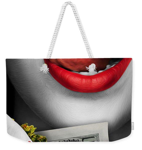 High Rollin Weekender Tote Bag
