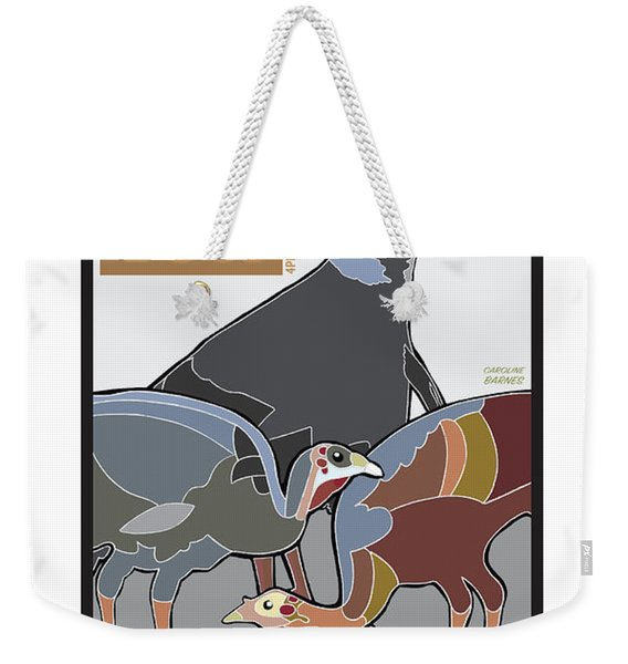 High Tea Weekender Tote Bag
