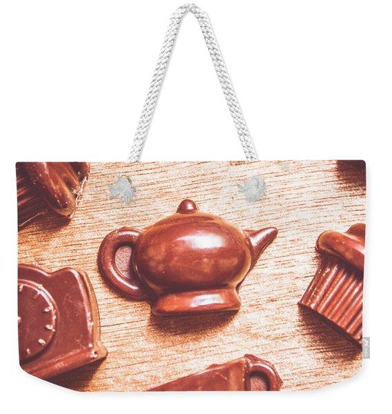 High Tea Snacks Weekender Tote Bag