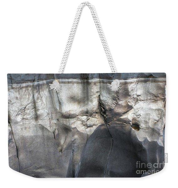 High Water Mark Rock Art By Kaylyn Franks Weekender Tote Bag