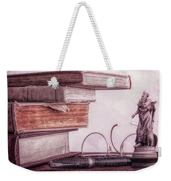 Higher Learning Weekender Tote Bag
