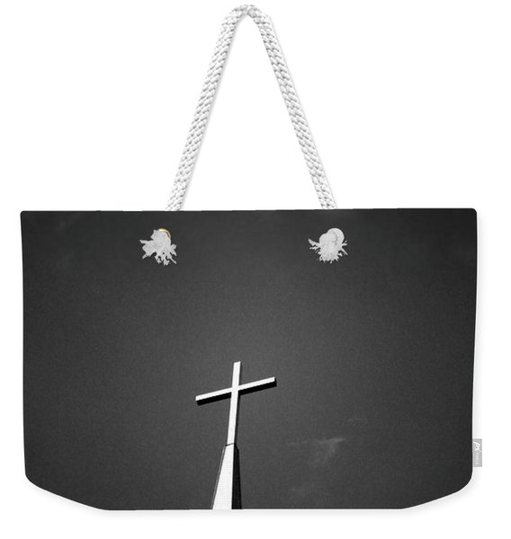 Higher To Heaven - Black And White Photography By Linda Woods Weekender Tote Bag