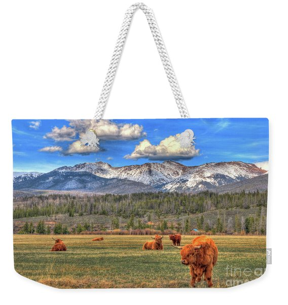 Highland Colorado Weekender Tote Bag