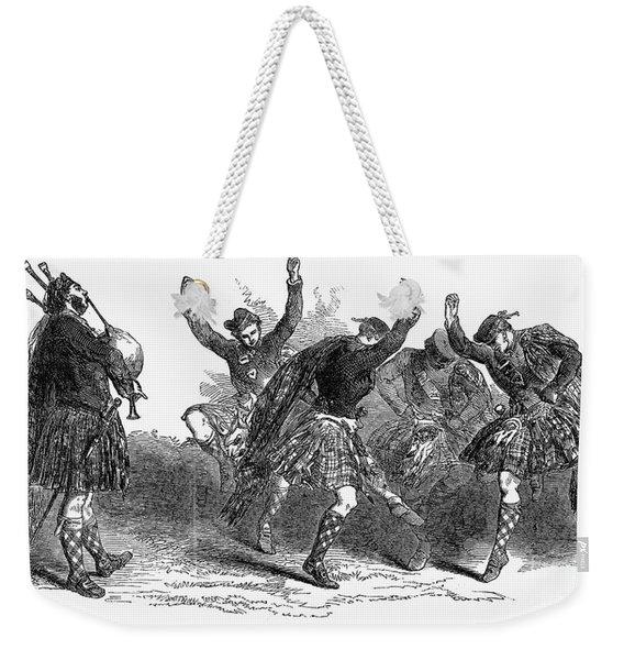 Highland Dancers, 1849 Weekender Tote Bag