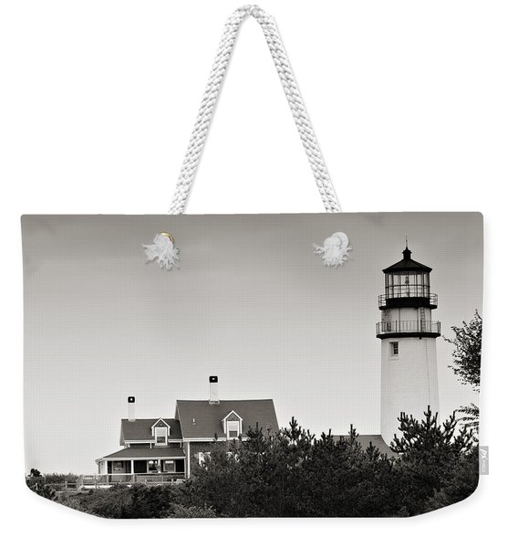 Highland Light At Cape Cod Weekender Tote Bag