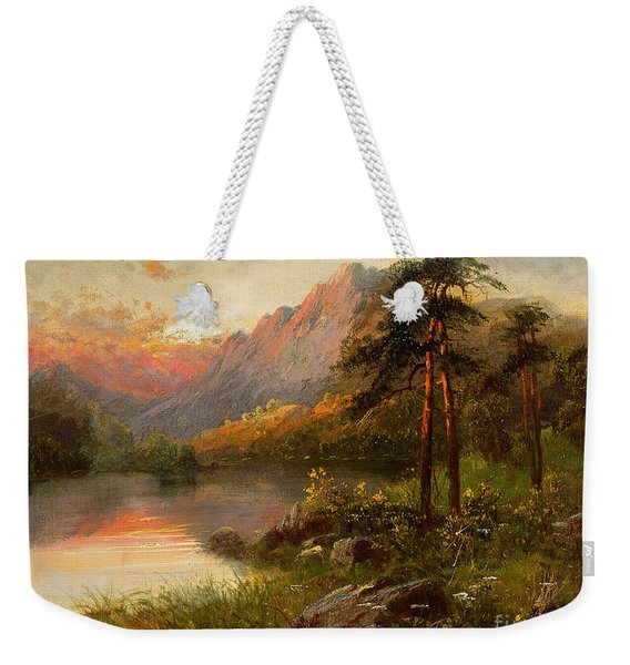 Highland Solitude Weekender Tote Bag