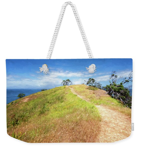 Hike To Whaler's Point Great Barrier Island New Zealand Weekender Tote Bag