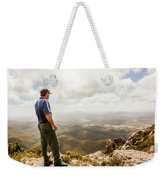 Hiking Australia Weekender Tote Bag