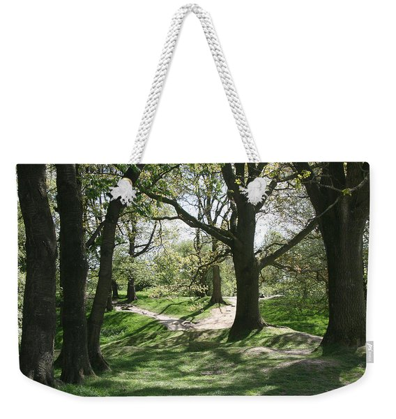 Hill 60 Cratered Landscape Weekender Tote Bag