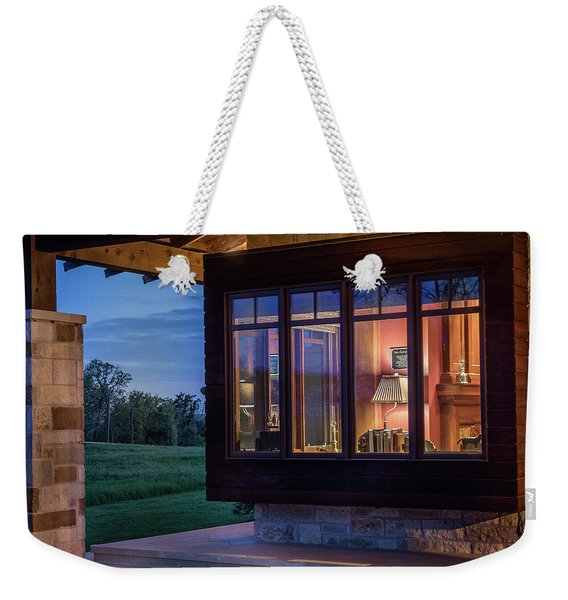 Hill Country Living Weekender Tote Bag