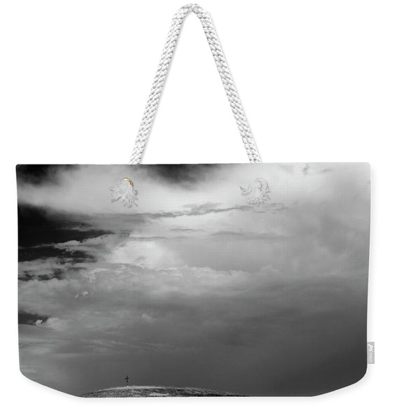 Hill Top Cross Weekender Tote Bag