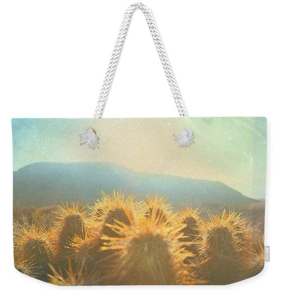 Hill Top Sunset  Weekender Tote Bag