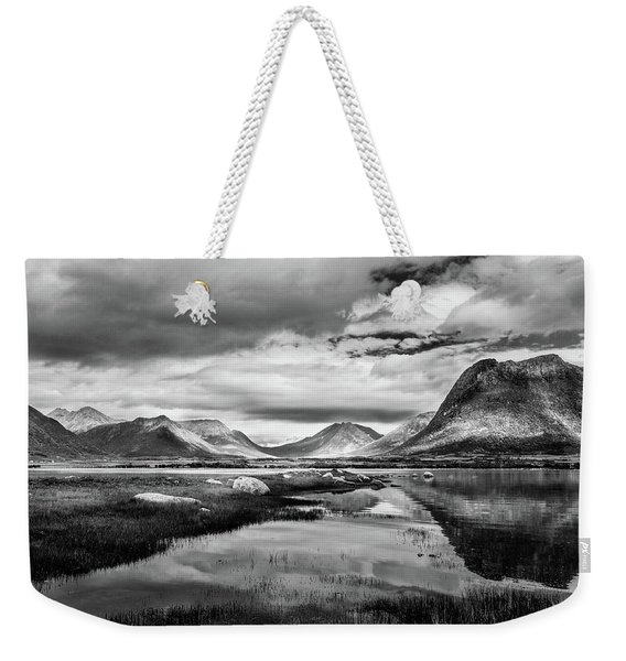Hills Of Vesteralen Weekender Tote Bag