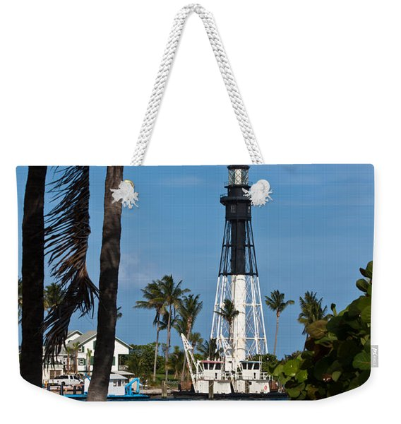 Hillsboro Inlet Lighthouse And Park Weekender Tote Bag