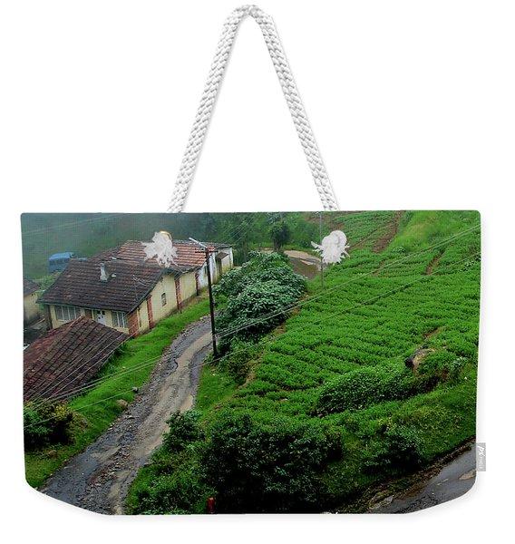 Hillside Dwellings Near Coonoor, India Weekender Tote Bag