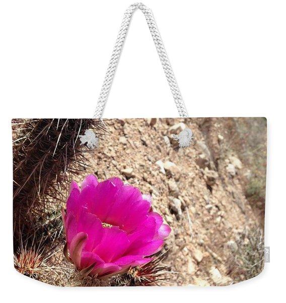 Hillside Raspberry Weekender Tote Bag