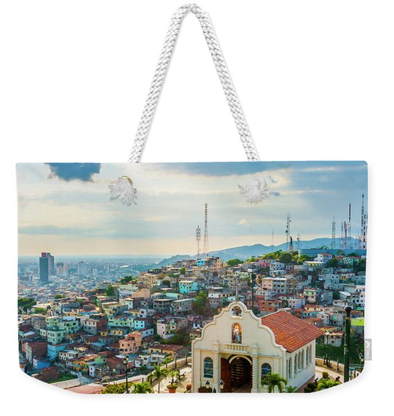 Hilltop Church Weekender Tote Bag