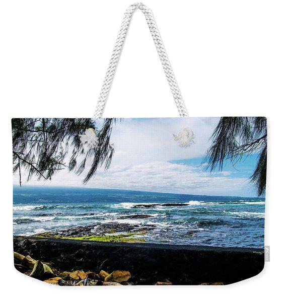 Hilo Bay Dreaming Weekender Tote Bag
