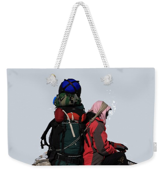 Himalayan Porter, Nepal Weekender Tote Bag