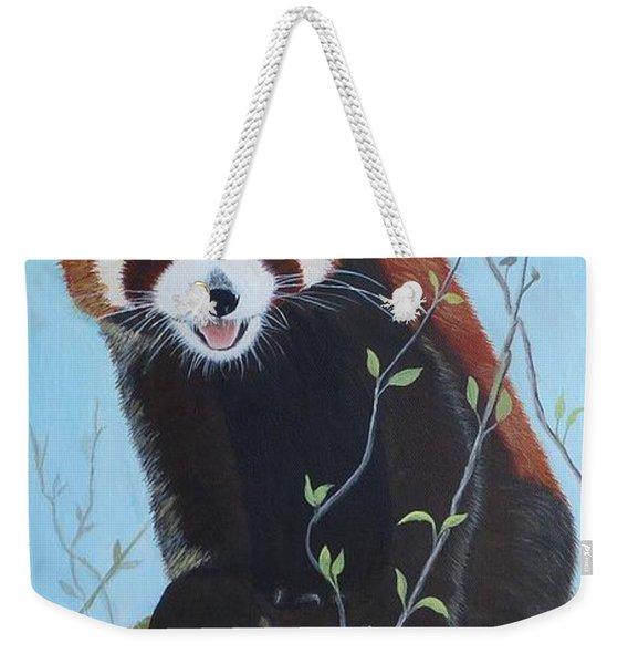 Himalayan Red Panda Weekender Tote Bag